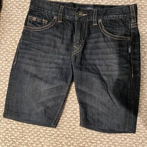 Silver jeans brand shorts